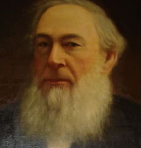 George Leslie (April 1, 1804- June 14, 1893) Painting attributed to John McPherson Ross. Courtesy of Leslie Sparks