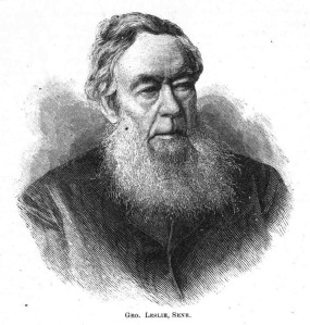 George Leslie Sr.
