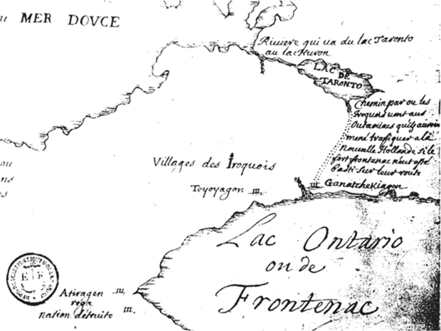Map ascribed to Louis Jolliet (after 1673)