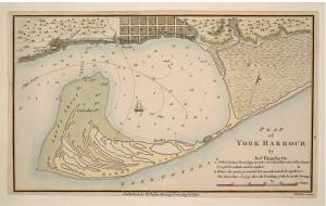Plan of York Harbour, 1815, by Joseph Bouchette.