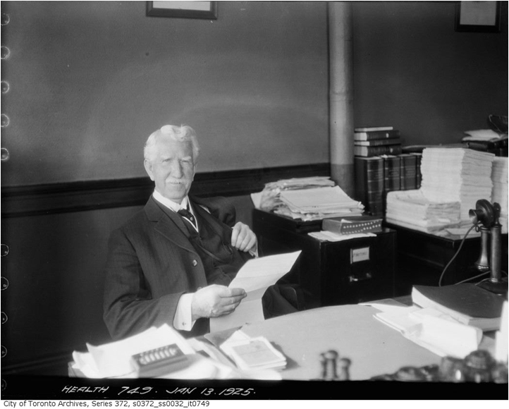 Dr. Charles Hastings, City of Toronto Archives