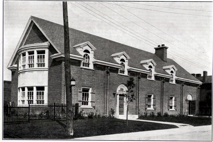 Photograph of the Ashdale Library, c. 1924, courtesy of the Toronto Public Library.