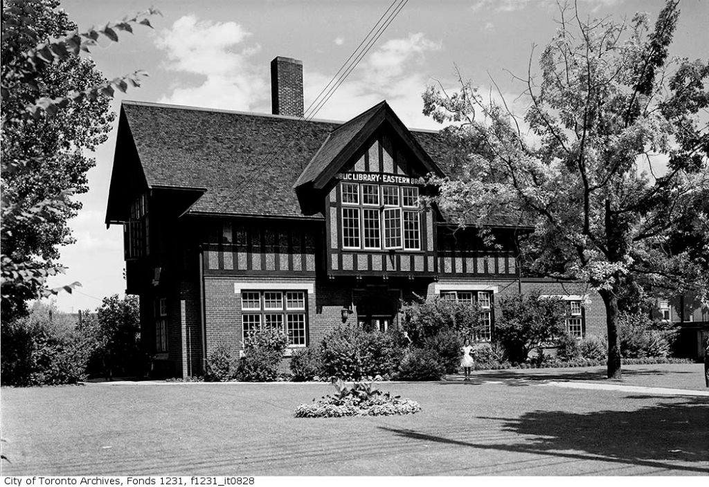 Main Street Branch, courtesy of the Toronto Public Library