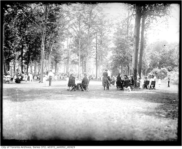 Monarch Park, July 1, 1921. Courtesy of the City of Toronto Archives.