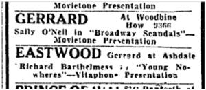Toronto Star Feb 27 1930