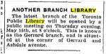 Toronto Star, May 10, 1924
