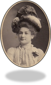 Violet Handley. Courtesy of descendents. In Public Domain.