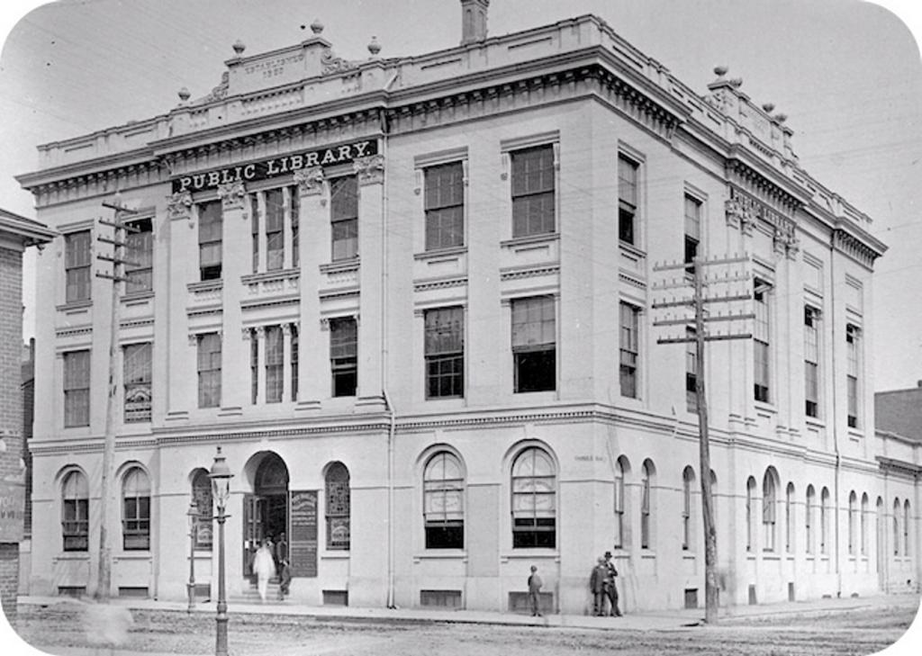 York Mechanics' Institute. Courtesy of the Toronto Public Library Digital Archive