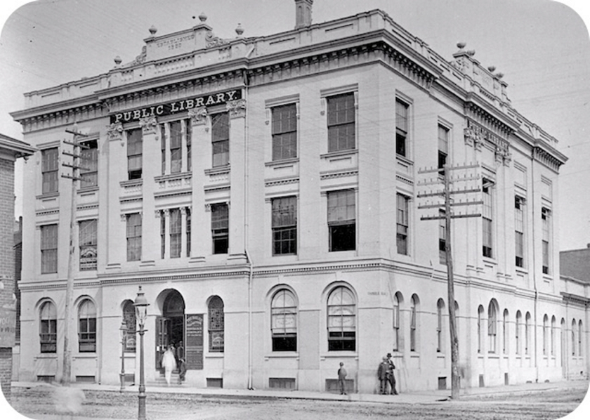 York Mechanics' Institute. Courtesy of the Toronto Public Library Digital Archive