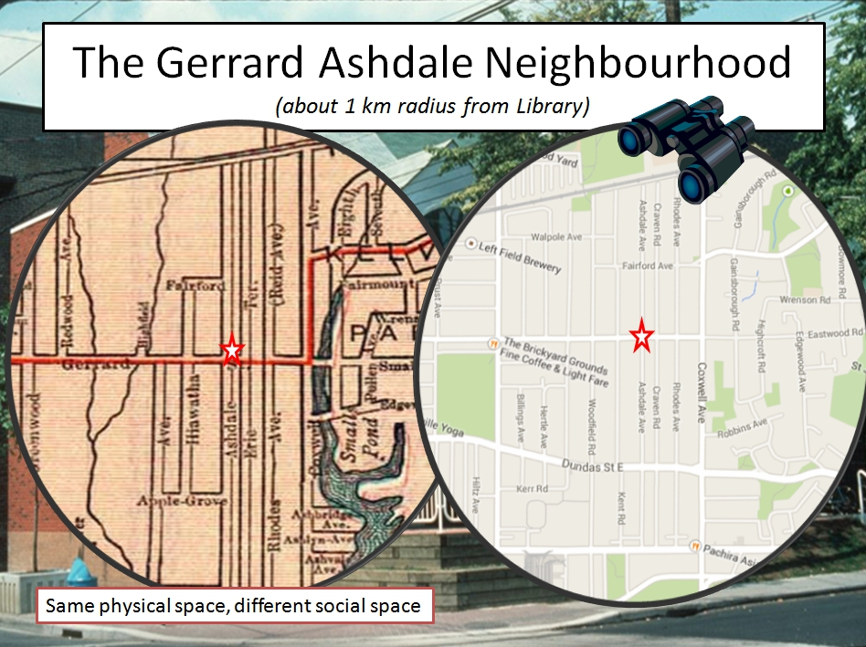 2014 map courtesy of Google Maps.