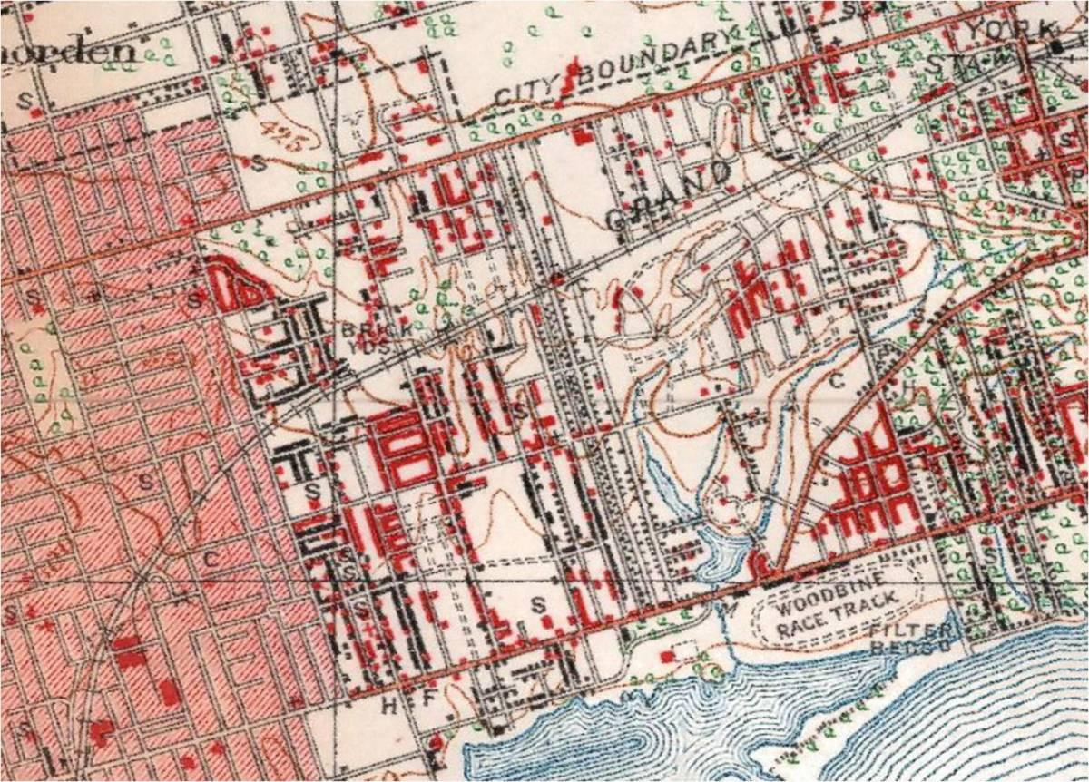 Topo map 1923 full size