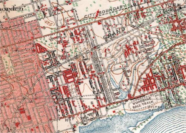 Topo map 1923 full size