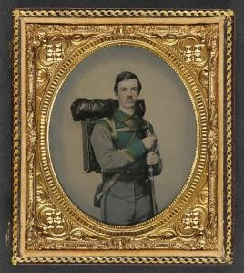 A Soldier of the 11th Virginia Infantry in which Lt. Walter R. Abbott fought