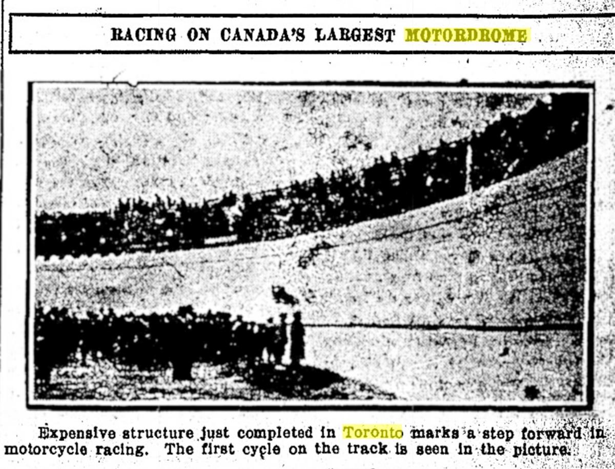 19140605 Medicine Hat News Motordrome