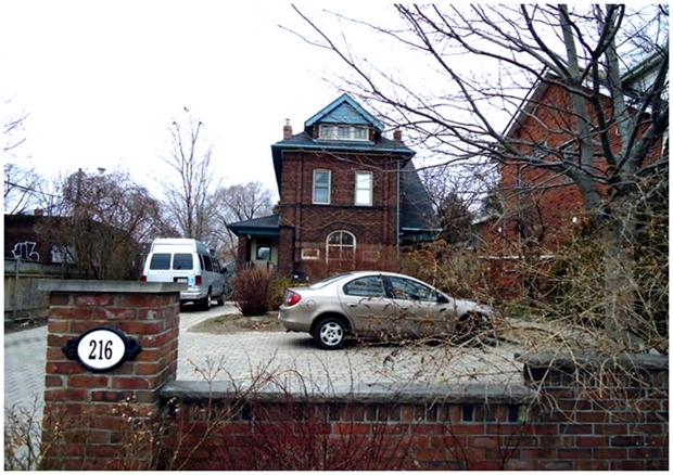The Isaac Price House, 216 Greenwood Avenue, Toronto, Ontario