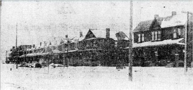 Taken on Jones Ave near Danforth Ave, on January 15, 1912 Hastings Creek, The Pocket