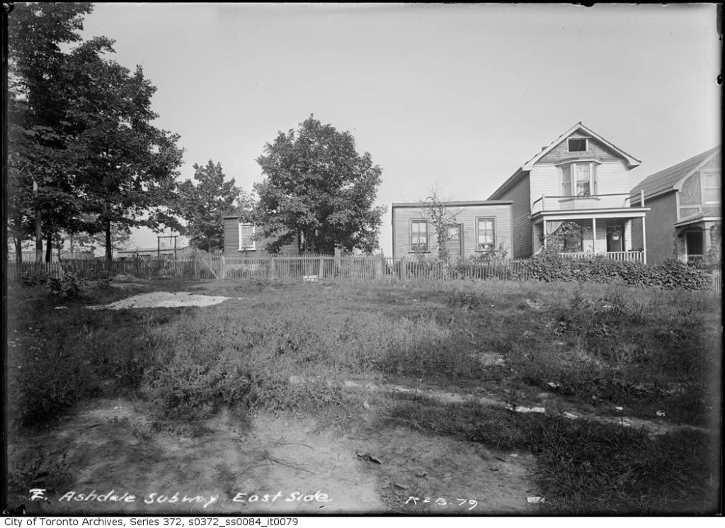 Ashdale Avenue 20 Sept 1910b