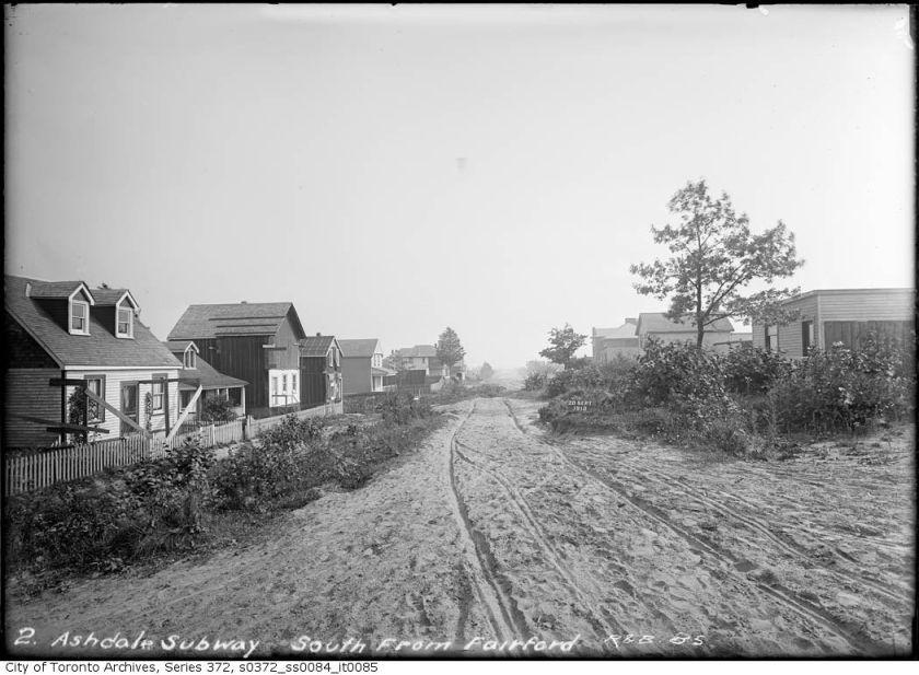 Ashdale Avenue 20 Sept 1910g