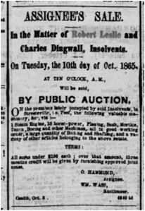 Globe, Oct. 9 1865