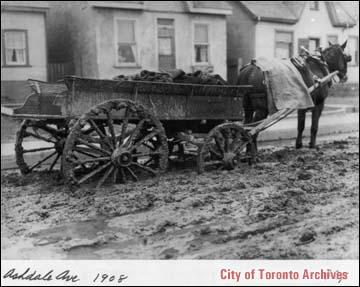 coal wagon on Ashdale