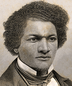 Frederick Douglass (1818-1895) The white man's happiness cannot be purchased by the black man's misery.