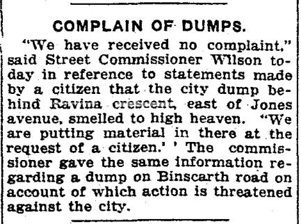 Toronto Star, May 23, 1921