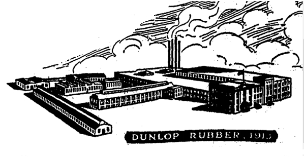 The 1919 plant replaced by the new factory built in 1919-1920.