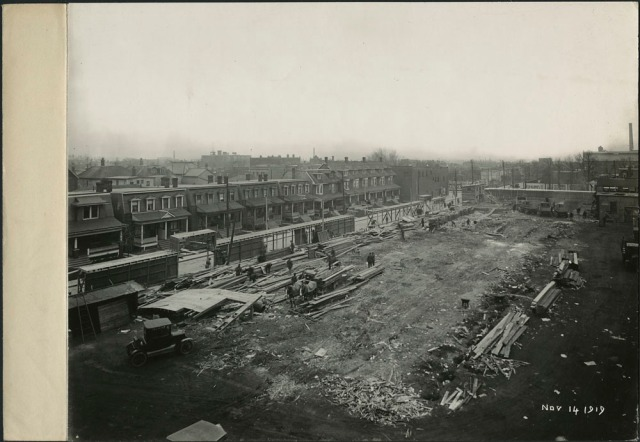 Building a new plant. Dunlop Tire & Rubber Co. November 14 1919 Library and Archives Canada