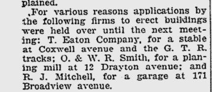 Toronto World, Jan. 22, 1918