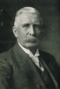 Portrait of George Taylor Denison III from his memoirs, Reflections of a Police Magistrate (The Musson Book Co., 1920).
