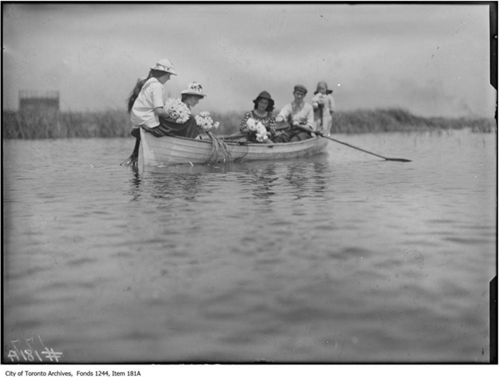 Girls in Rowboat