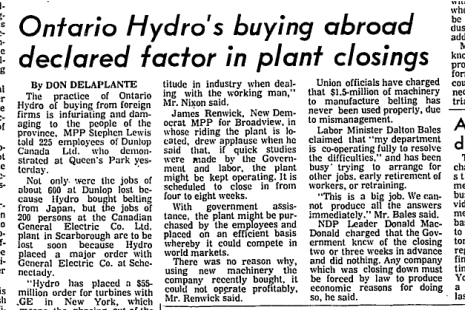Globe and Mail, March 12, 1970 continued