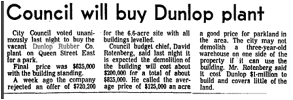 Globe and Mail, March 18, 1971