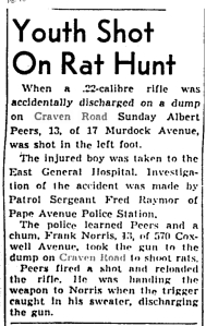 Globe and Mail, May 7, 1940