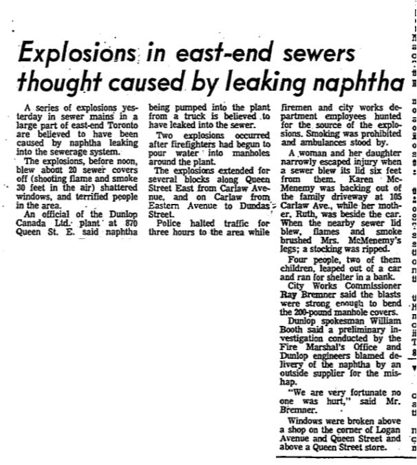 Globe and Mail Oct. 7, 1967