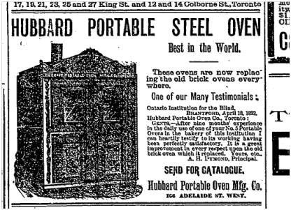 Hubbard Stove Globe May 12 1892