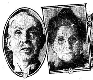 Isaac Price and Annie Margaret Simpson Price on their Golden Wedding Anniversary Toronto Star, Jan. 4, 1930