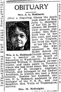 Julia Luckett obit