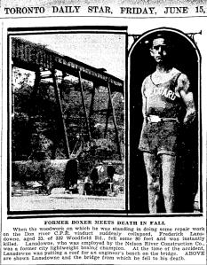 Lansdowne Toronto Star June 15 1928