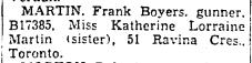 Toronto Star, Aug. 18, 1943
