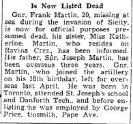 Toronto Star, March 14, 1944