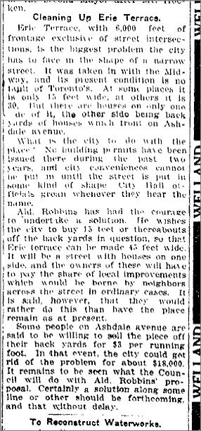 Toronto Star, Jan. 15, 1913