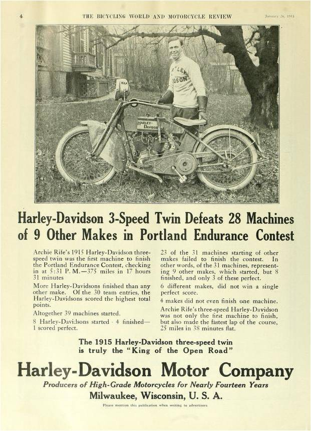 The Bicycling World and Motorcycle Review, 1915