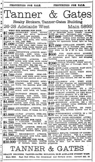 Toronto Star, June 13, 1913