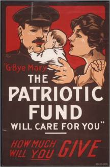 Mary : the Patriotic Fund will care for you Archives of Ontario War Poster CollectionReference Code: C 233-2-4-0-194Archives of Ontario, I0016174