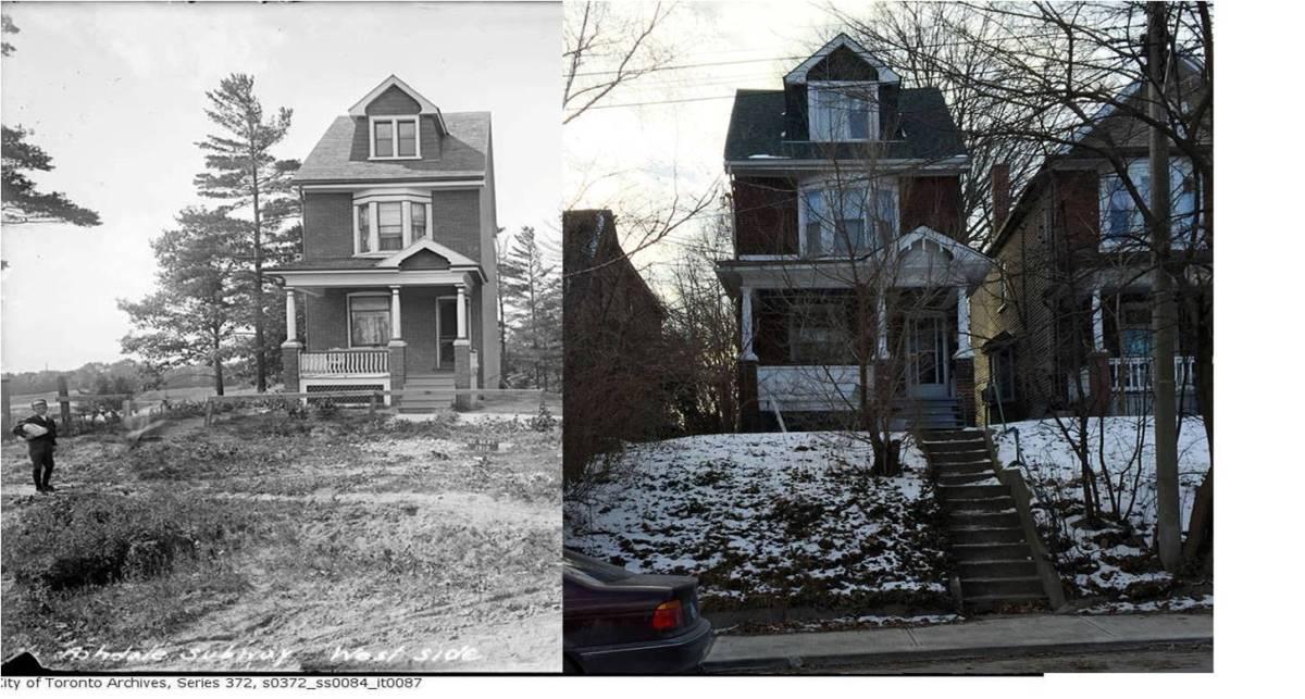 House on Ashdale Avenue. Photo by Karen Hamilton.