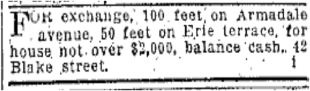 Some clearly saw the suffering that lay ahead and wanted out. Toronto Star, Nov. 2, 1907
