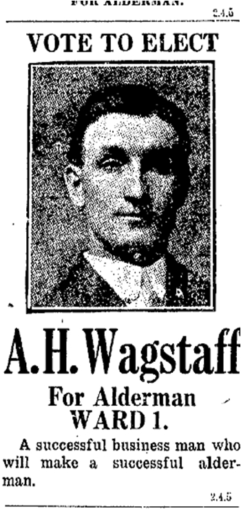 Toronto Star, December 31, 1915. He won in 1915 and took his seat on Council in January 1916. The term was for one year only.