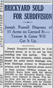 Toronto World, January 14, 1913