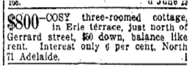 Toronto Star, June 8, 1911